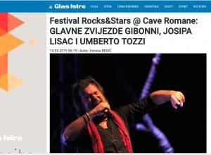 Za Glas Istre najavljen ovogodišnje izdanje festivala Rocks & Stars