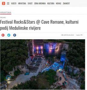 Portal NET.hr  pisao je o Festivalu Rock & Stars